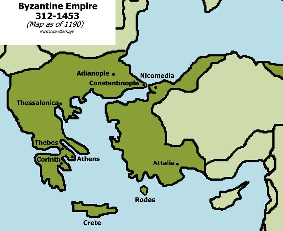 Byzantium  Ancient History Encyclopedia